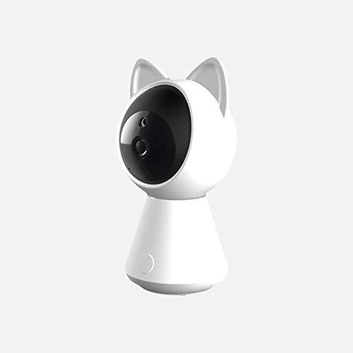 LSQ Accueil babyphone de la caméra de Surveillance HD, Affichage Vision en Ligne Night 2-Way-Talk Forme Cat Moniteur Caméra Babysitter Radio Nanny Vidéo IP WiFi