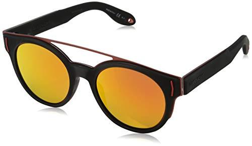 Givenchy GV 7003/S HD PZZ Gafas de sol, Rojo (Brand Mirror/Grey), 49 para Mujer