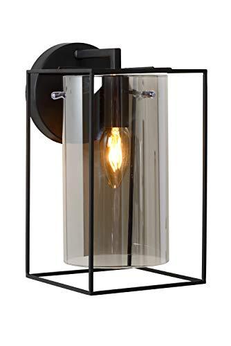 Lucide JULOT - wandlamp - E14 - zwart