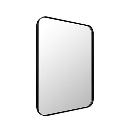 ANDY STAR Black Wall Mirror for Bathroom, 16x20 Inch Small Black Bathroom -