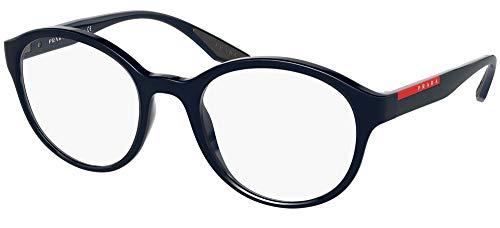 Prada Gafas de Vista Linea Rossa LINEA ROSSA VPS 01N Blue 50/21/145 hombre