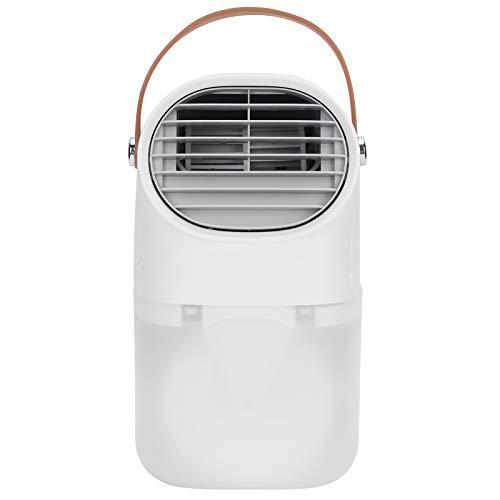 Enfriador de Aire, Equipado con un Ventilador de enfriamiento de Aire de Tanque de Agua Grande de 750 ml, ABS silencioso sin perturbar el sueño para la Sala de Estar, el Dormitorio, la
