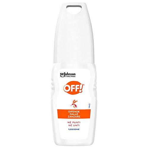 OFF! Insetto Repellente, Lozione Antizanzare, Non Unge, Confezione da 100 ml