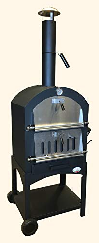 FORNO BUONO® OUTDOOR WOOD-FIRED/CHARCOAL FIRED PIZZA OVEN.
