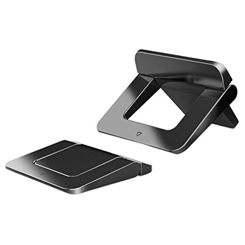 Monllack Soportes para tabletas Plegables, práctico Mini portátil Hoder Notebook Soporte de Tableta Plegable de enfriamiento Ajustable para computadora Lc-249