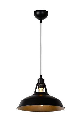 Lucide BRASSY-BIS - Suspension - Ø 31 cm - Noir