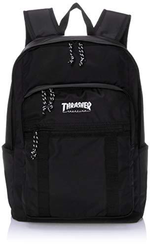 [スラッシャー] [ユニセックス] リュック 25L (撥水加工)[ THR-138 / Backpack ] おしゃれ A4収納 BKWT_ブラック・ホワイト