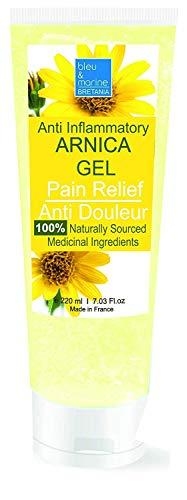 Gel d'Arnica 90% Sport Récupération Gel de Massage (200 ml)