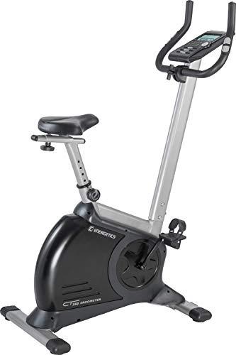 ENERGETICS CT 350 Ergometer Fitnessbike, Schwarz/Silber, One Size