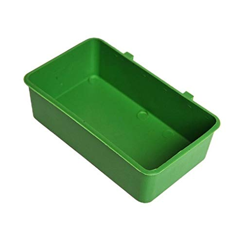 rongweiwang Pet Dishes Bowl Plastic Pet Food Container Large Plastic Pet Dishes Capacity Animal Drinking Water Tub