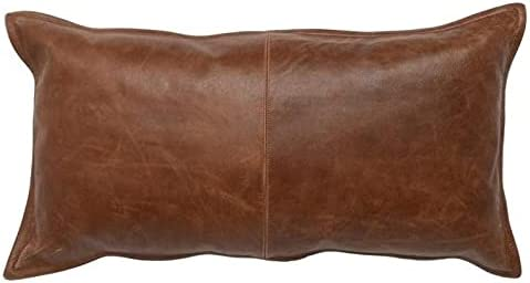 KAINAT Genuine Leather trend rank Pillow Cover Case Thro Super special price for Lumbar