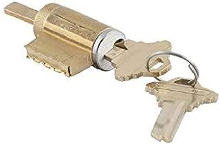 Schlage 21-020-C123-626 Cylinder for AL Series Levers in C123 Keyway, 626 - Satin Chrome, Varies Metal