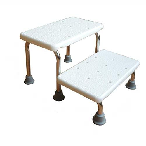 Klappleiter Badeleiter, tragbare zweistufige Leiter Edelstahlleiter Home Multifunktionsleiter Größe 41 * 49 * 29cm Multifunktion (größe : 41 * 49 * 29CM)