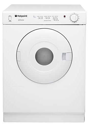 Hotpoint V4D01P Tumble Dryer White 4 Kilogram - Vent on the Front