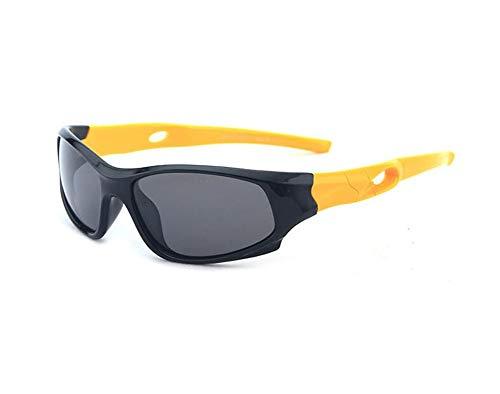 HMILYDYK Gafas de sol polarizadas UV400, con marco de goma flexible, para...