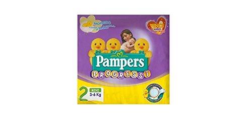Pannolini Per Bambini Progressi Sensitive 3-6 Kg Mini 30 Pezzi