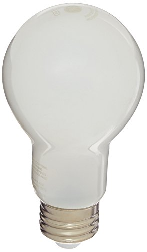 General Electric 91073 6PK 6 Pack 8W Soft White A19 All Glass LED Light Bulb