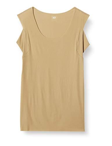 [グンゼ] スリーブレスシャツ YG Tシャツ専用 in.T(インティー) CUT OFFシリーズ 汗パット メンズ クリアベージュ 日本 M (日本サイズM相当)