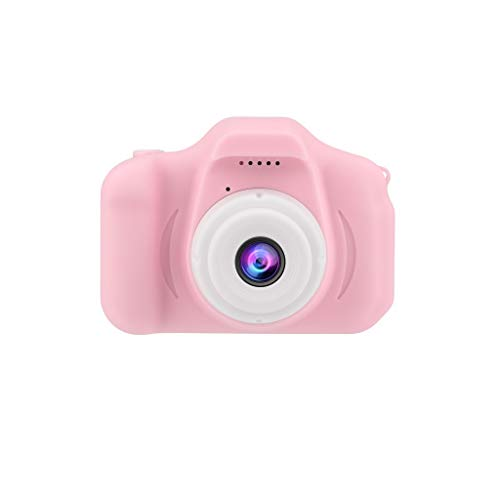 Children's Digital Camera 2.0 LCD Mini Multiple Function Camera HD 1080P Children's Sports Camera Children's Gift Or Toys (Pink, 2.0 inch)