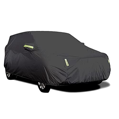 WM home Funda impermeable para coche con tira reflectante, protección contra el sol, resistente al polvo y a los rayos UV, resistente a los arañazos, universal (nombre del color: XL)
