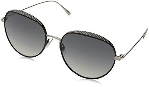 Jimmy Choo Damen ELLO/S IC JIN 56 Sonnenbrille, Schwarz (Black Pallad/Grey Mesh Slv)