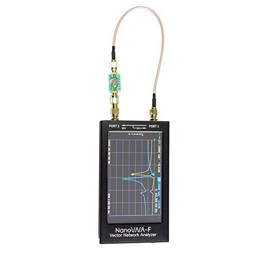 Analizador de red vectorial NanoVNA-F 4.3 pulgadas de pantalla grande analizador de red vectorial MF HF VHF 50khz-1.5Ghz