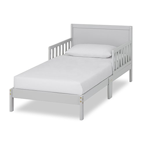 Dream On Me Brookside Toddler Bed in Pebble Grey, Greenguard Gold Certified