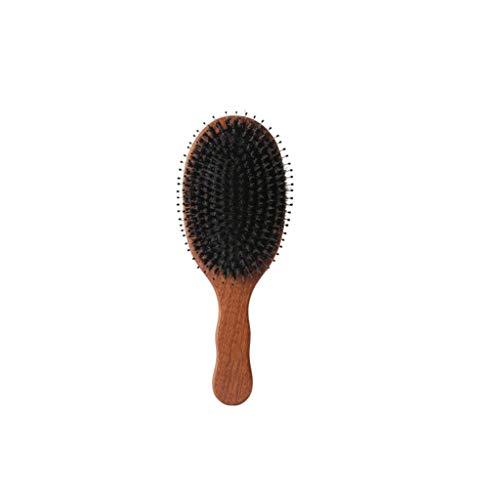 Massivholz Massagekamm Tragbare Massagebürste Luftkissentyp Kamm Klein Und Leicht, Um Müdigkeit Effektiv Zu Lindern AMINIY (Size : 22.5×8cm)