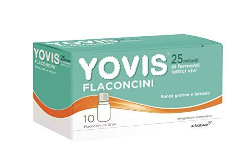 Yovis Flaconcini, miliardi di fermenti per il benessere della flora intestinale. Anche fuori casa.