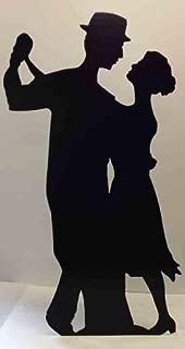 Salsa Dancer (Silhouette) - Silhouette Lifesize Cardboard Cutout / Standee / Standup