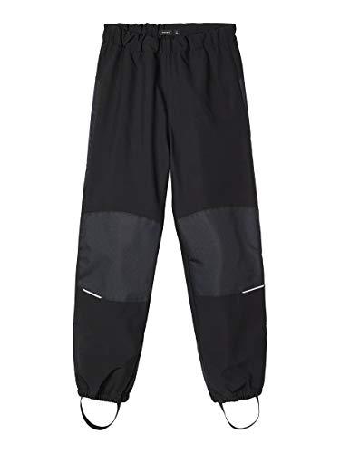NAME IT Baby Jungen Nknalfa Pant Solid Noos Hose, Black, 140 EU