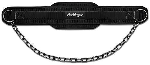 Harbinger Polypropylene Dip Belt with Steel Chain, Gunmetal