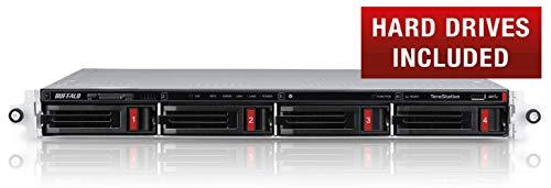 Buffalo TeraStation 3410RN Ethernet Bastidor (1U) Negro, Plata NAS - Unidad Raid (4 TB, Unidad de Disco Duro, Unidad de Disco Duro, Serial ATA III, 1000 GB, 3.5