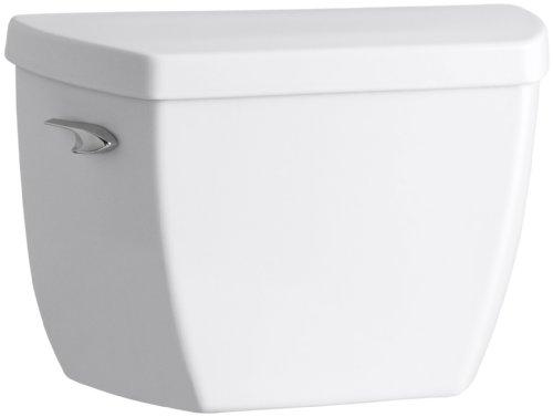 Kohler K-4484-T-0 Highline Classic 1.0 gpf Toilet Tank with Tank Cover Locks and Left-Hand Trip Lever, White