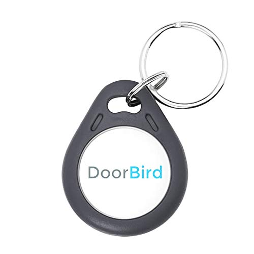 DoorBird BRFID Insignia RFID para Portero de vídeo, Negro