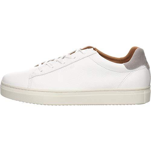 Salamander Herren GINOTTO Sneaker, Weiß (White, Light-Grey 40), 43 EU