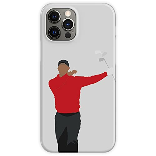 Club Twirl Tiger Woods | Best Sunday Red Golfer | Golf Gift - Unique Design Snap Phone Case Cover for iPhone 12 & iPhone 11 & All of Other Phones - Customize