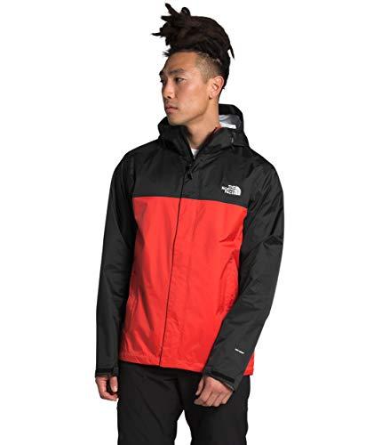 The North Face Men's Venture 2 Jacket, Flare/TNF Black, 3XL