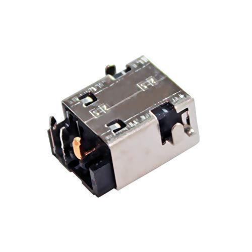 Huasheng Suda DC Jack Charging Port Plug Replacement for Clevo P650RG 6-7C-P650RG0A-N03-A#10 P650HP 6-77-P650HP6A-N02A-B P65XSA P650SA P651SA 6-71-P6500-D03 /P650RG Sager NP8658-S