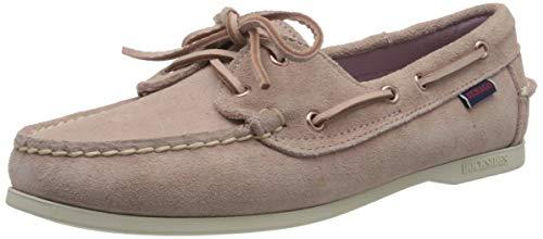 Sebago Jacqueline Suede W, Chaussures Bateau Femmes, Rose (Chiffon 953), 37 EU