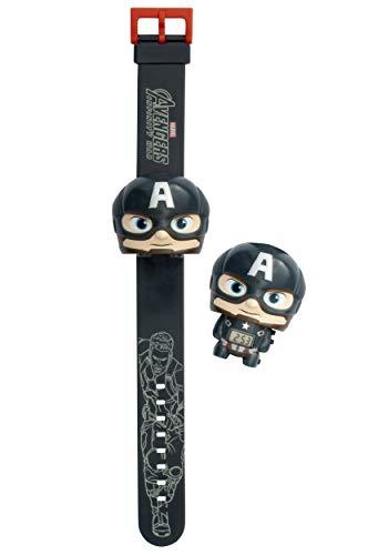 Orologio da polso retroilluminato per bambini BulbBotz Marvel 2021838 Avengers: Infinity War Capitan America