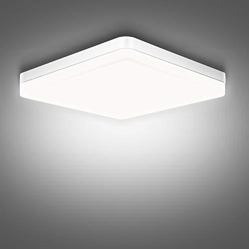 LED Deckenleuchte, Ouyulong 36W 6500K 3240LM Led Deckenlampe für Wohnzimmer, Schlafzimmer, Küche, Flur, Balkon, Esszimmer, Weiß