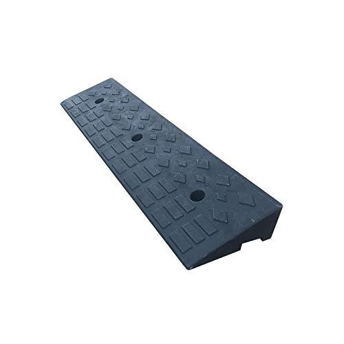 Xzg1-Rampe 10CM Bordsteinrampsen, rutschfeste Gummi-Auffahrkissen Multifunktionsschwarz rutschfeste Servicerampsen(Size:100 * 25 * 10CM)