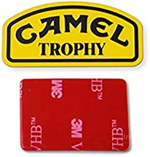 R/C Scale Accessories : Camel Trophy Metal Plate For TRX-4 Trail Defender Crawler - 1Pc