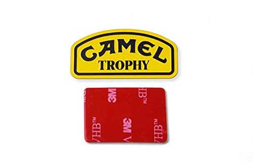 GPM R/C Scale Accessories : Camel Trophy Metal Plate for TRX-4 Trail Defender Crawler - 1Pc