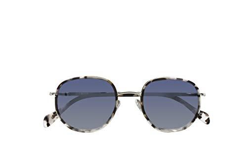 Parafina - Gafas de Sol Polarizadas para Hombre y Mujer - Gafas de Sol cuadrada Anti-reflejantes Ash Demi con Efecto Espejo - Lentes Plateadas