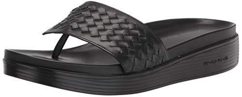 Donald J Pliner Women's Sandal, Black, 6.5