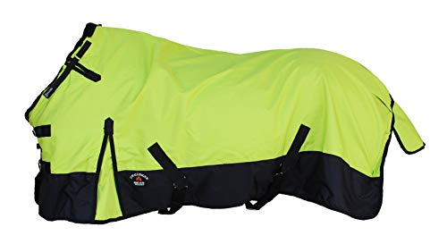 CHALLENGER 72  1200D Turnout Rain Horse Sheet Light Winter Blanket Gusset 344