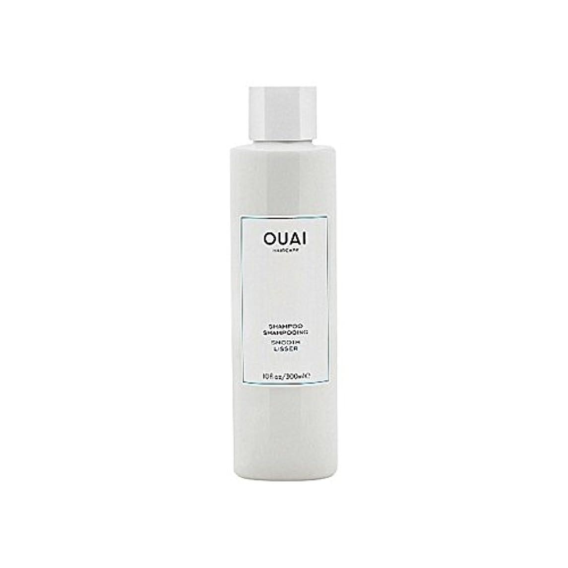 ジュラシックパーク体トーンOuai Smooth Shampoo 300ml (Pack of 6) - スムーズなシャンプー300ミリリットル x6 [並行輸入品]