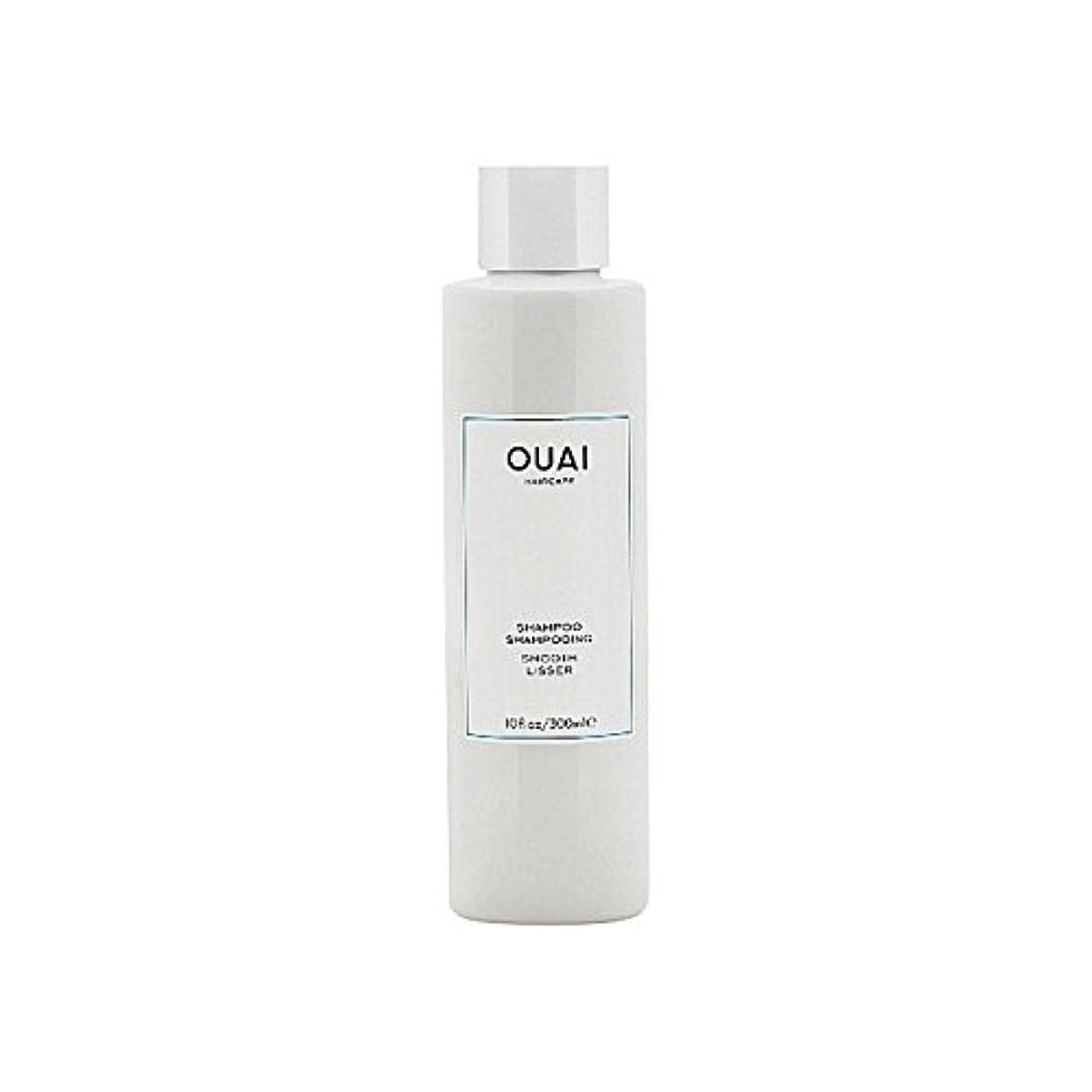 批判するポゴスティックジャンプ財布スムーズなシャンプー300ミリリットル x4 - Ouai Smooth Shampoo 300ml (Pack of 4) [並行輸入品]